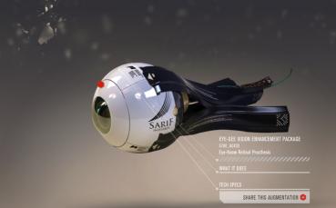 Bionisches Auge aus Deus Ex